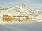 Tignes-le-Lac — Stock Photo