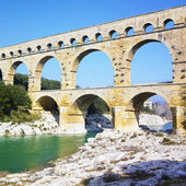 Pont du Gard, Provence, France — Stock Photo