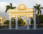 Arch of Triumph, Parque Jos — Stock Photo
