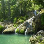 El Nicho waterfall — Stock Photo