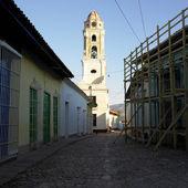 Museo Nacional de la Lucha Contra Bandidos (former monastery), T — Stock Photo