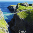 Carrick-a-rede Rope Bridge — Stock Photo
