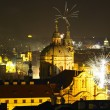 New Year's Eve in Prague — Stock Photo #4228139