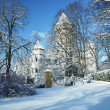 Konopiste Castle in winter — Stock Photo