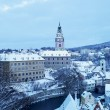 Cesky Krumlov in winter — Stock Photo #4228181