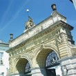 Brewery gate, Plzen (Pilsen), Czech Republic — Stockfoto