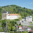castle becov nad teplou — Stock Photo #4228330