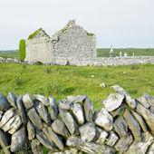 Ruins of Carran Church — Stock Photo