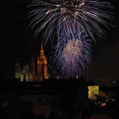 New Year in Prague — Stock Photo