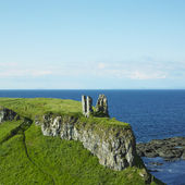 Ruins of Dunseverick Castle — Stock Photo