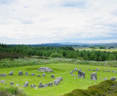 Stone circles, Beaghmore — Stock Photo