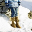 Stock Photo: Winter boots