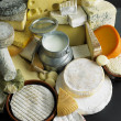 Stock Photo: Cheese still life