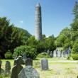 Stock Photo: Monastery of St. Kevin, Glendalough, Ireland