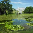 Powerscourt House with gardens — Stock Photo #4264742