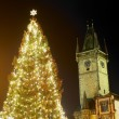 Christmas time, Prague, Czech Republic - Stock Photo