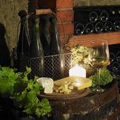 Nature morte dans la cave à vin, république tchèque — Photo