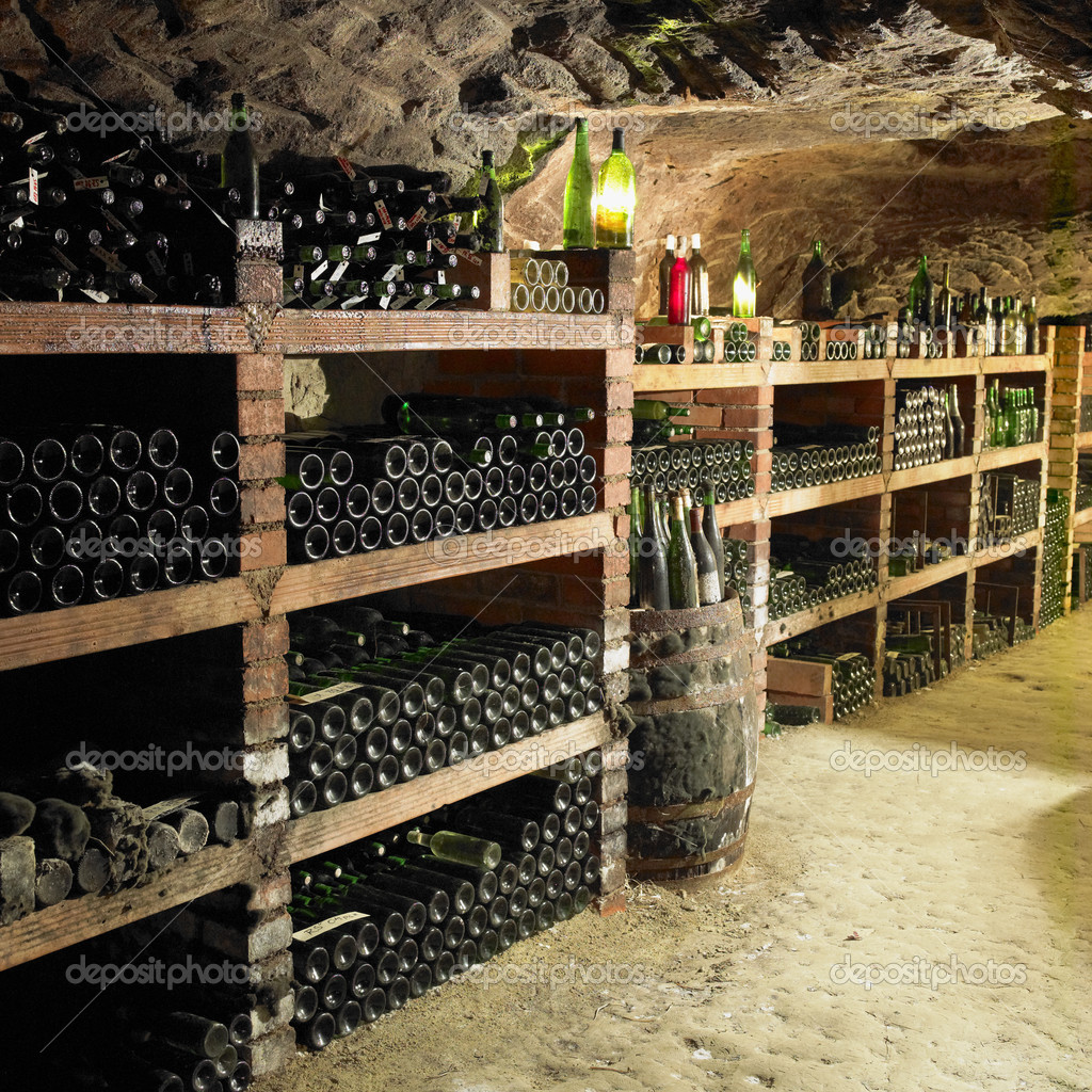 Wine cellar, Czech Republic — Stock Photo #4264533