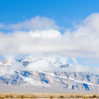 Winter mountains in Nevada, USA — Foto Stock