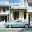 Old car in Guant — Stock Photo