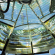 Lighthouse''s interior, Fresnel lens, Cayo Pared — Stock Photo