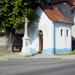 Little church, Sardice, Czech Republic - Stock Photo