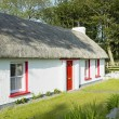 Cottage, County Donegal, Ireland - Stock Photo
