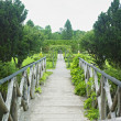 Florence Court Gardens, County Fermanagh, Northern Ireland - Stock Photo