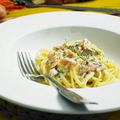 Špagety — Stock fotografie