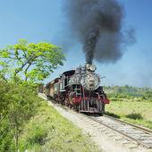 Turístico tren valle de los ingenios, sancti sp — Foto de Stock