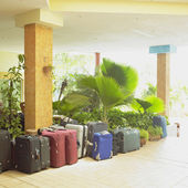 Hotel lobby, Cayo Coco, Ciego de — Stock Photo