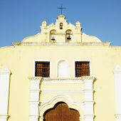 Detail of San Juan Bautista de Remedios''s Church, Parque Mart — Stock Photo