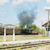 Sugar railway, Gregorio Arlee Manalich sugar factory, Cuba — Stock Photo