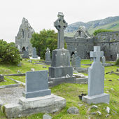Ruins of Murrisk Abbey — Stock Photo