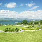 Bantry House Garden — Stock Photo