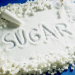 Sugar still life - Stock Photo