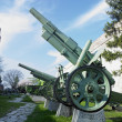 Military technique, fortress Kalemegdan, Belgrade, Serbia — Stock Photo #4306810