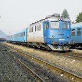 Moteur de locomotive — Photo