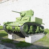 Tank, fortress Kalemegdan, Belgrade, Serbia — Stock Photo