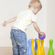 Standing toddler — Stock Photo #4355824
