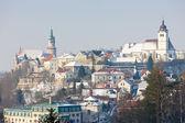 Nove Mesto nad Metuji in winter — Stock Photo
