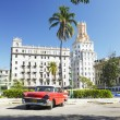 Antique automobile, Havana, Cuba — Stock Photo
