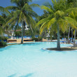 Hotel''s swimming pool, Varadero, Cuba — Stock Photo