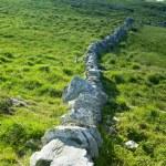 Stone wall, Sheep''s Head Peninsula, County Cork, Ireland — Stock Photo