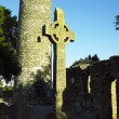 Stock Photo: Monasterboice, County Louth, Ireland