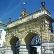 Brewery gate, Plzen (Pilsen), Czech Republic — Foto Stock