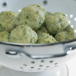 Herb dumplings - Stock Photo