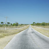 Road, Las Tunas Province, Cuba — Stock Photo