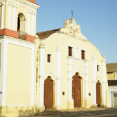 San Juan Bautista de Remedios''s Church, Parque Mart — Stock Photo