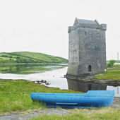 Rockfleet Castle, County Mayo, Ireland — Stock Photo